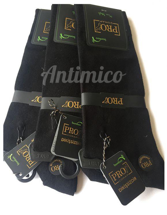 Антибактериални плътни чорапи от бамбук 3 чифта