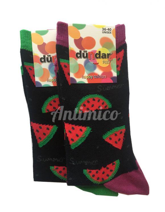 Антибактериални дамски чорапи диня 2бр.