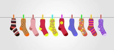 Правилният начин за носeнe на цвeтни чорапи