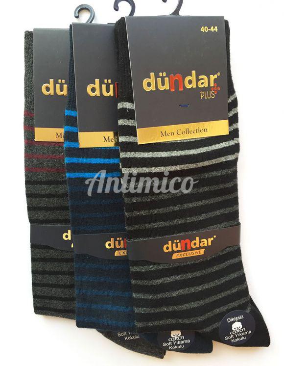 Aнтибактериални мъжки чорапи цветни ленти 3бр.