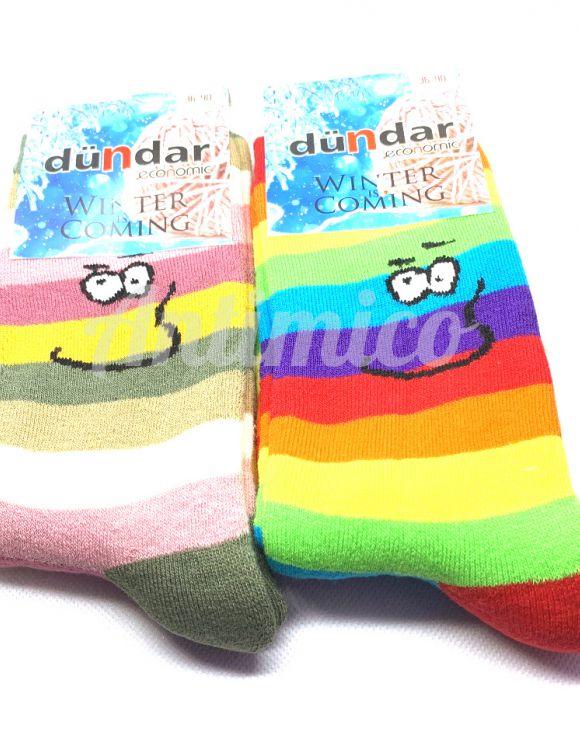 Чорапи за настроение зимни, дебели - 2 чифта памук