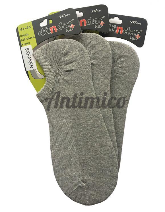 Антибактериални мъжки чорапи за маратонки, терлици 3 чифта