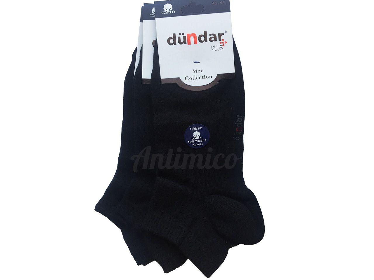 Антибактериални къси мъжки чорапи 3 бр.