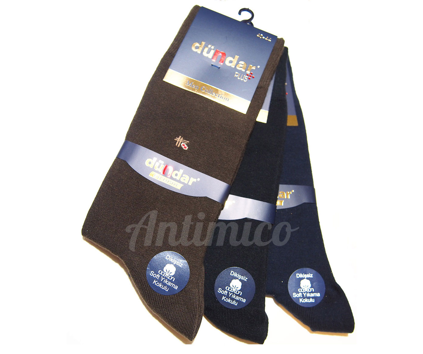 Антибактериални мъжки чорапи 3бр.
