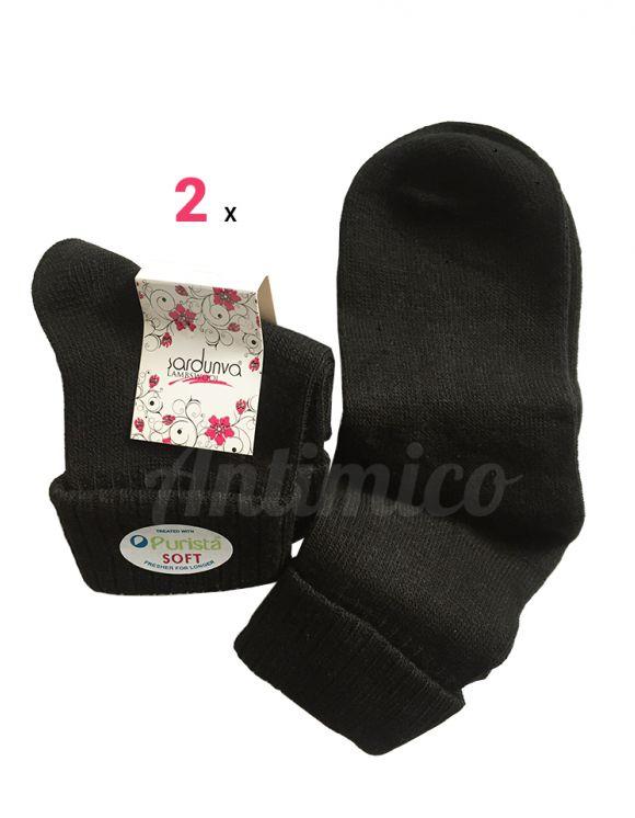 2х Дамски чорапи от мериносова вълна, антибактериални