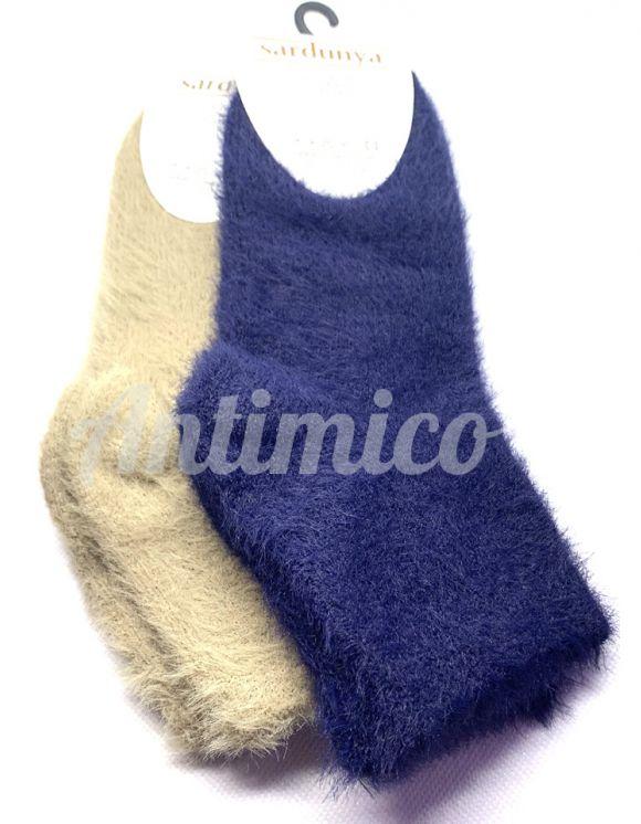 2 чифта дамски чорапи от ангорска вълна