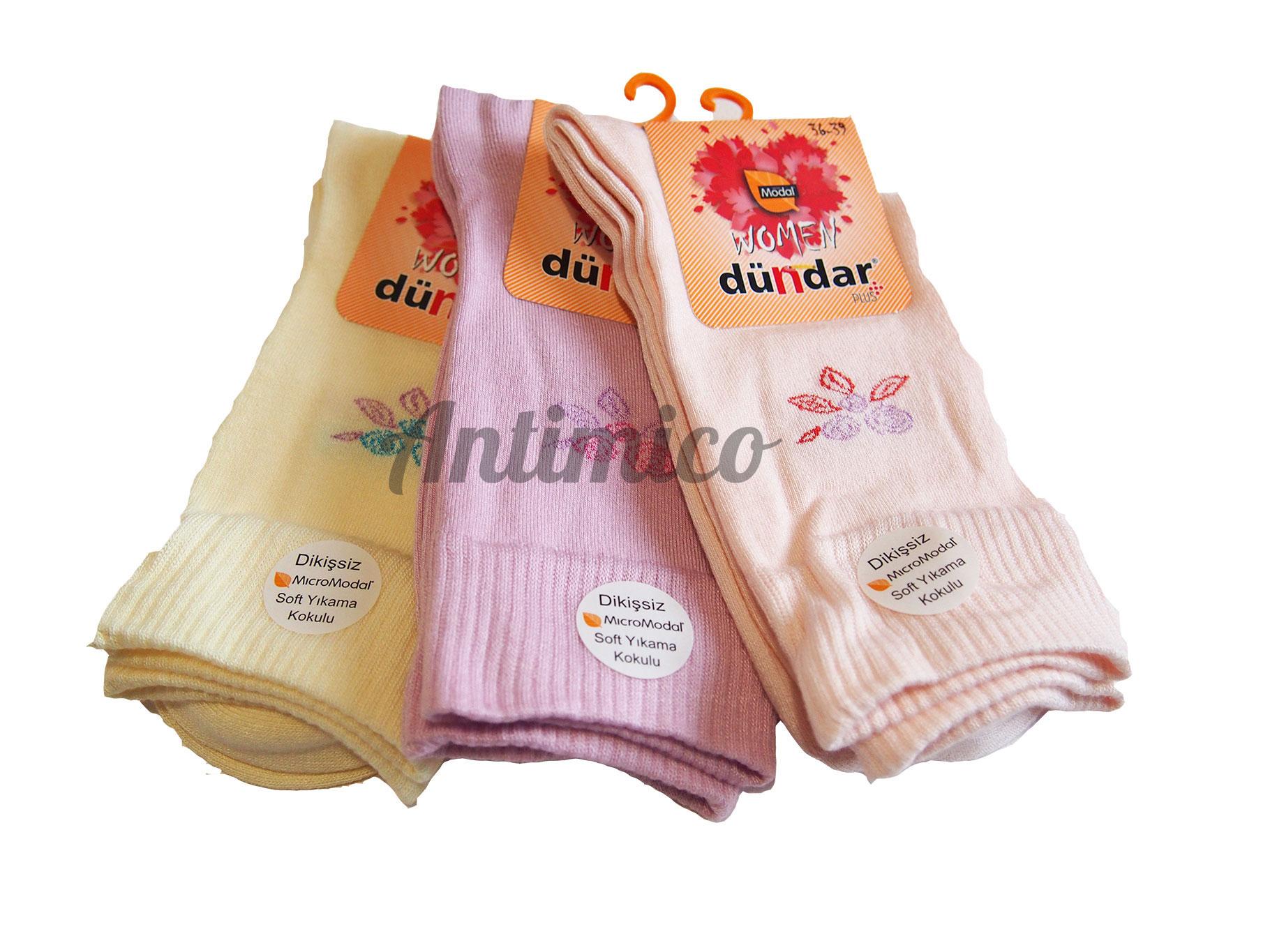 Антибактериални дамски чорапи от модал 3бр.