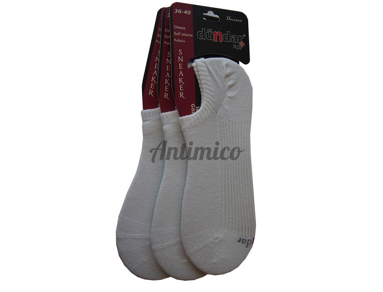 Антибактериални унисекс чорапи за маратонки 3 чифта